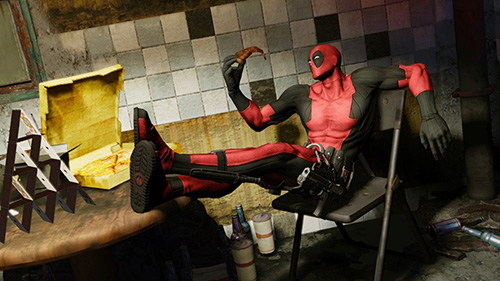 Trailer de lançamento do game de Deadpool
