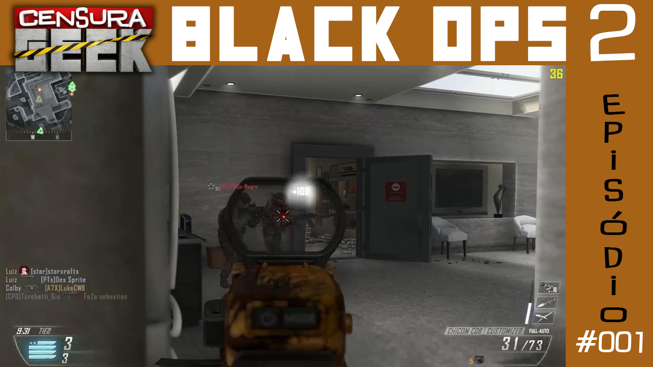 Call of Duty: Black Ops 2 – Primeira gameplay